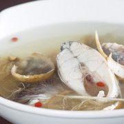 術後 喝魚湯 fish-soup