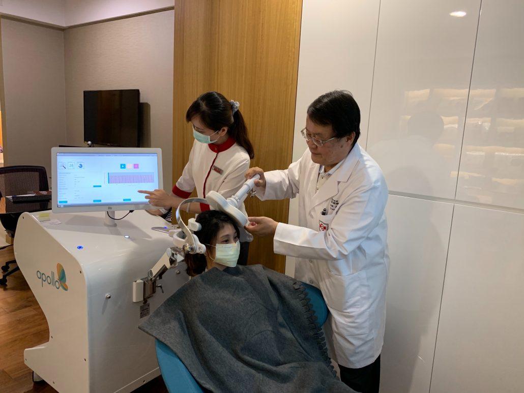 腦神經促進程 吳禹利 醫師 靜脈雷射 rTMS 經顱磁刺激 診治