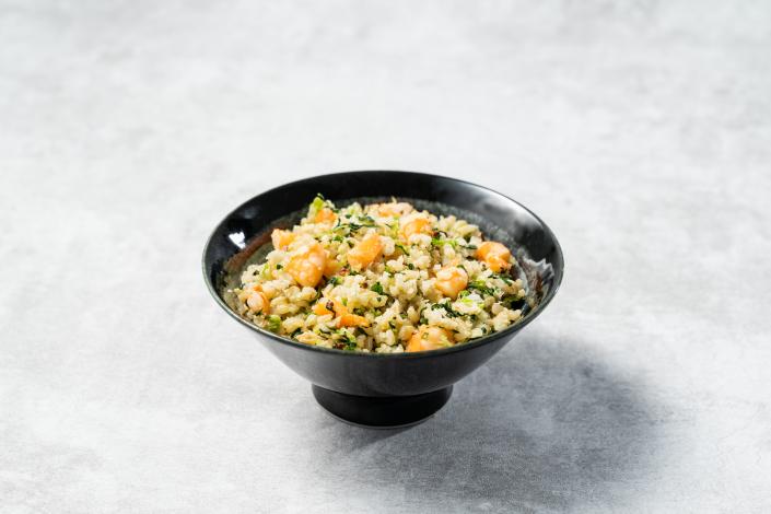 i醫健康診所/健康管理中心 四週飲食調整計劃 示範菜單 熱量 上海蝦仁菜飯 421卡